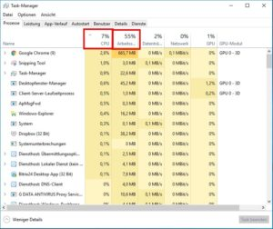 Tuning-PC-Tuning-Taskmanager-markiert-CPU-und-RAM