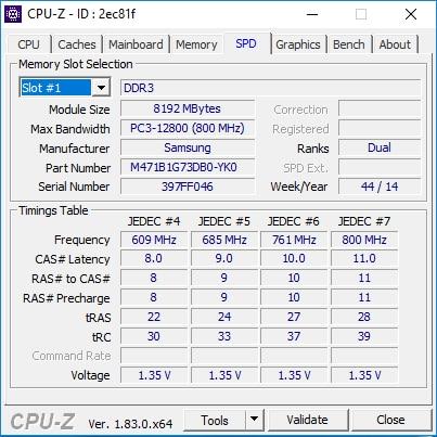 CPUZ Beispiel 05