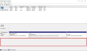 Windows Datenträgerverwaltung