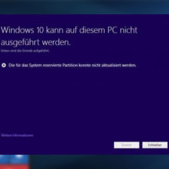 Windows 10 Updateprobleme beseitigen