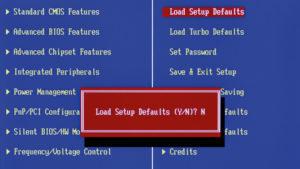 BIOS-Defaults