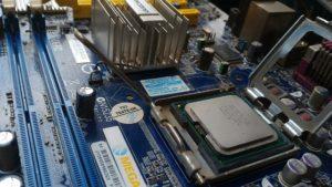 Mainboard mit eingebautem IntelCore CPU