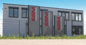 Das neue Firmengebäude der ESM-Computer GmbH