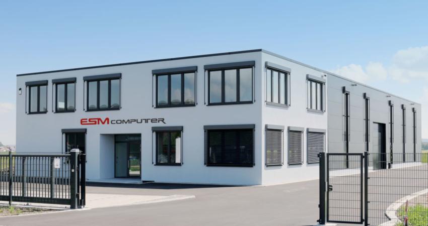 Firmengebäude der ESM-Computer GmbH