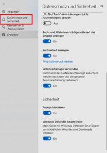 Tracking Windows 10 Screenshot