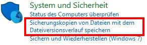 Die Systemsteuerung in Windows 10 - System und Sicherheit
