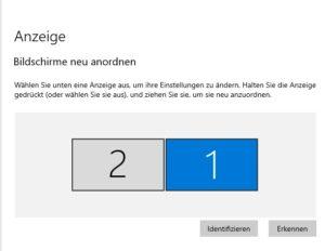 Bildschirmerkennung Windows 10