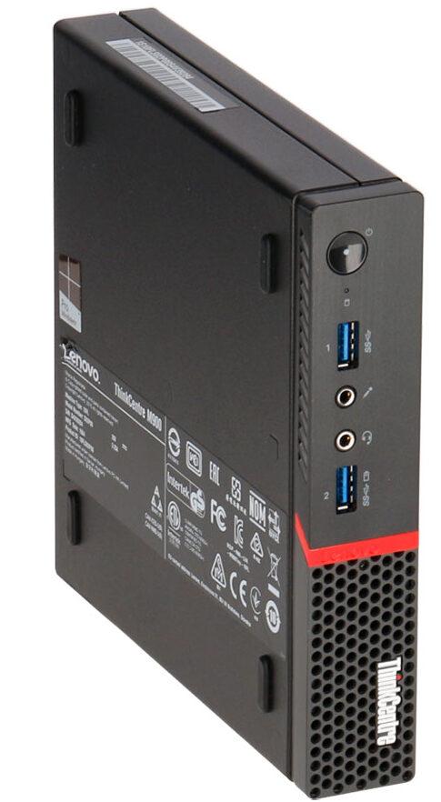 Lenovo M900 Tiny Frontseite