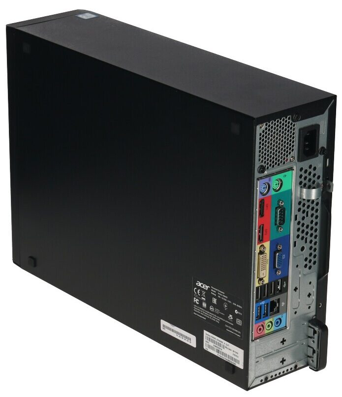 Acer Veriton X4640G Rückansicht