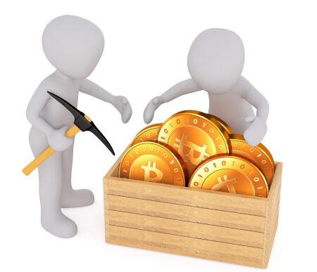 Visualisierung Crypto-Mining