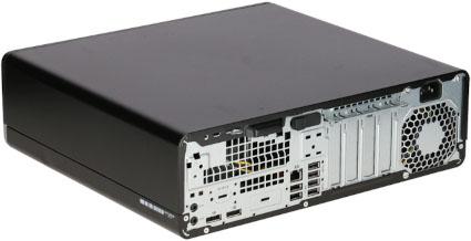 Produktvorstellung_HP EliteDesk 800 G3 SFF hinten