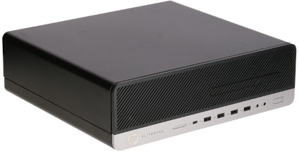 Produktvorstellung_HP EliteDesk 800 G3 SFF vorn