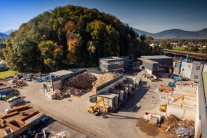 Recyclinghof Luftbild