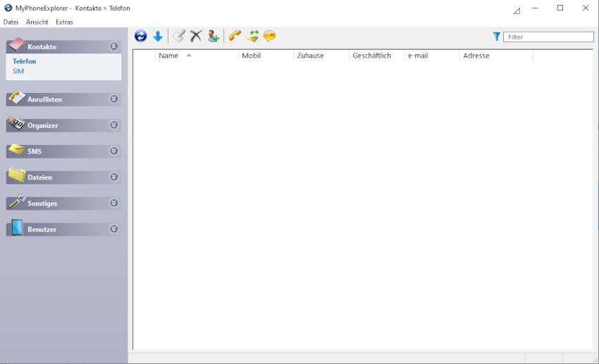 Screenshot MPE Übersicht