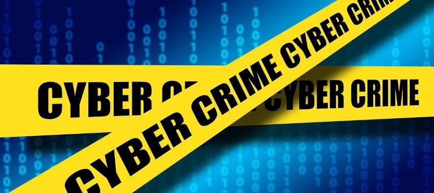 Cyber-crime yellow